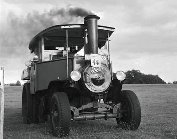 Карьерный паровой грузовик