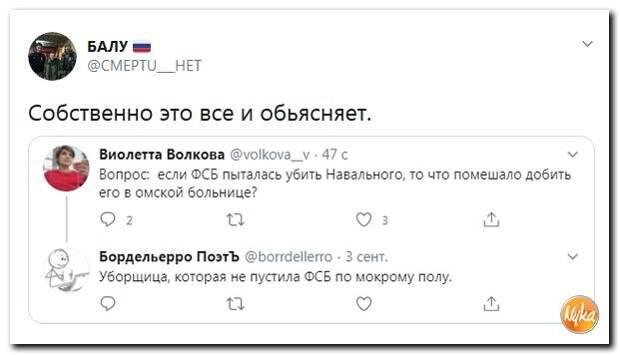 Навальным затыкают «Северный поток – 2»