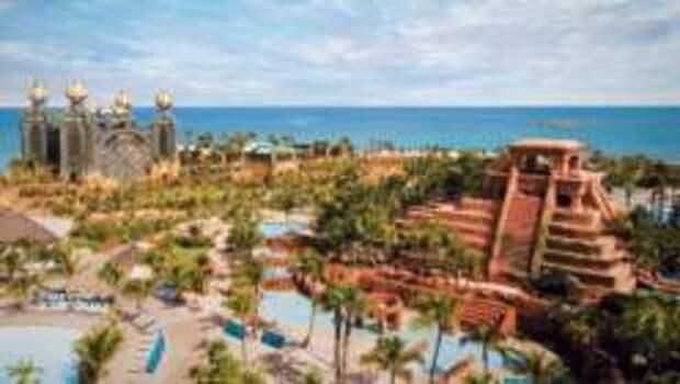 Один из крупнейших аквапарков мира Aquaventure в Atlantis