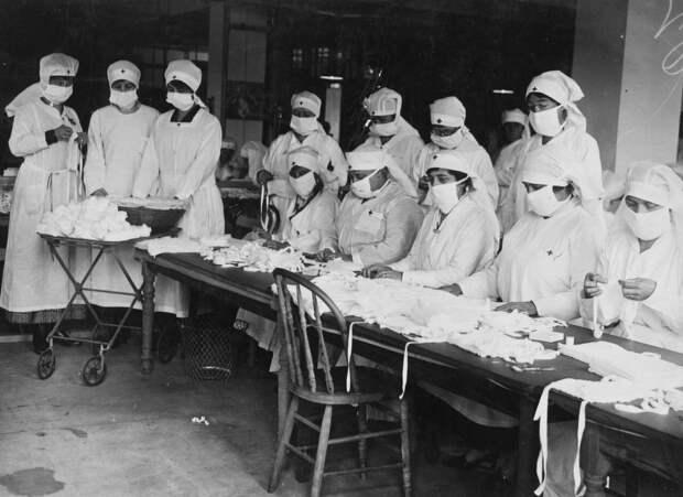 9 исторических фото со времен пандемии «испанки»