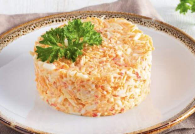Бархатный салат: делаем на замену надоевшему крабовому
