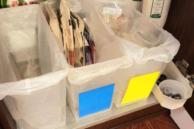 Как организовать раздельный сбор мусора дома?