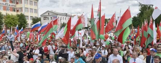 А что думают простые белоруссы о России?