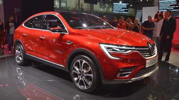 На Украине будут собирать Renault Arkana из российских машинокомплектов