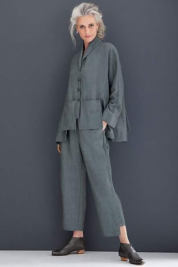 модная льняная одежда фасоны выкройки