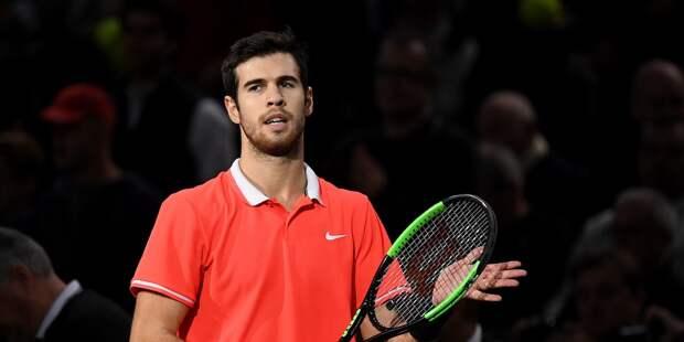 Теннисист Хачанов улучшил позицию в рейтинге ATP