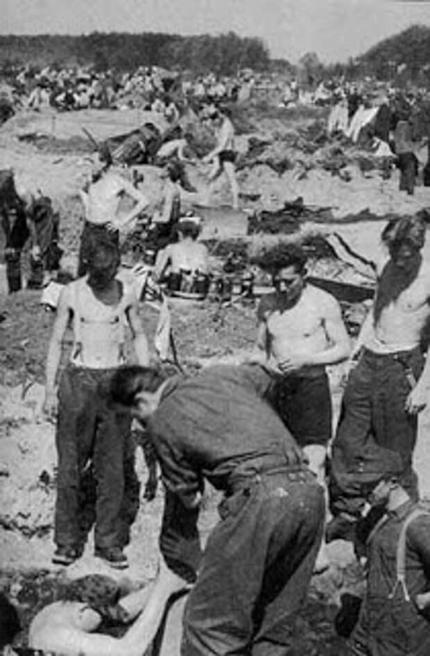 Лагеря смерти Эйзенхауэра