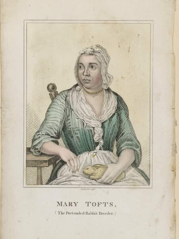 Портрет Мэри Тофт. <br>