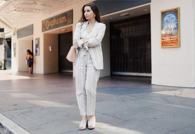 Льняные брюки: простой способ выглядеть шикарно