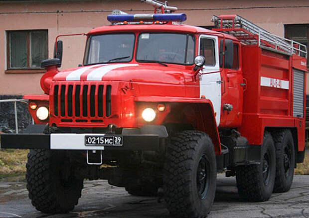 В 15 армии ВКС особого назначения прошла тренировка пожарной команды