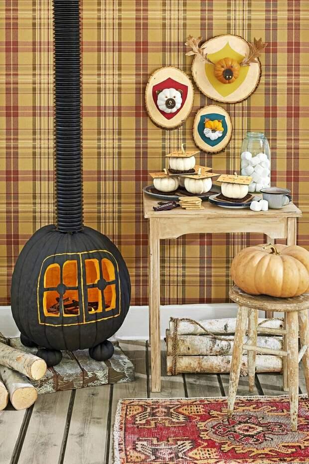 Хеллоуинские тыковки (подборка)