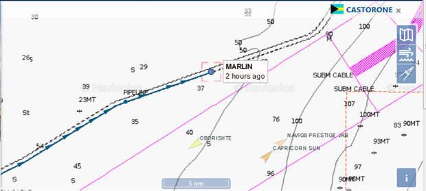 СП-2 12.08: Фортуна в полном порядке, молотит по километру в день! ???????? Цена на газ летит в небеса. Что именно проверяет Марлин?
