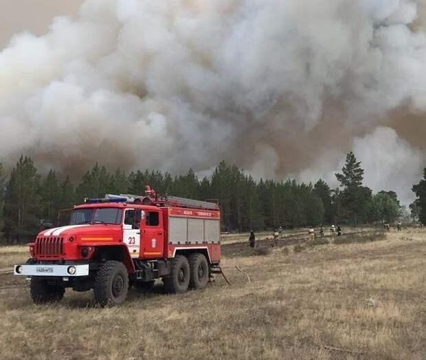 В Челябинской области огонь уничтожил 71 строение