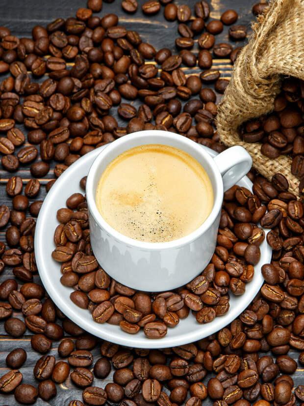 Употребление кофе снижает риск преждевременной смерти