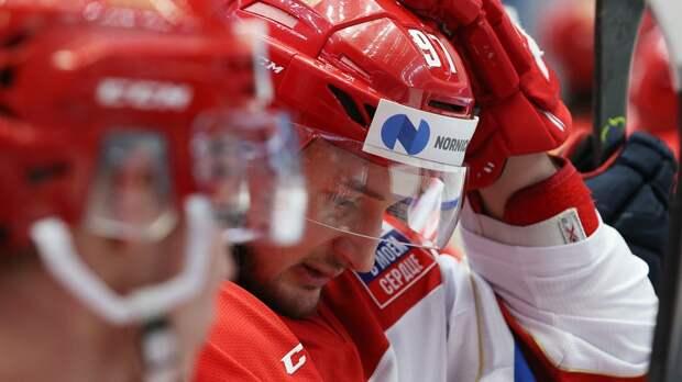 Олимпийская сборная России проиграла Казахстану на Kazakhstan Hockey Open