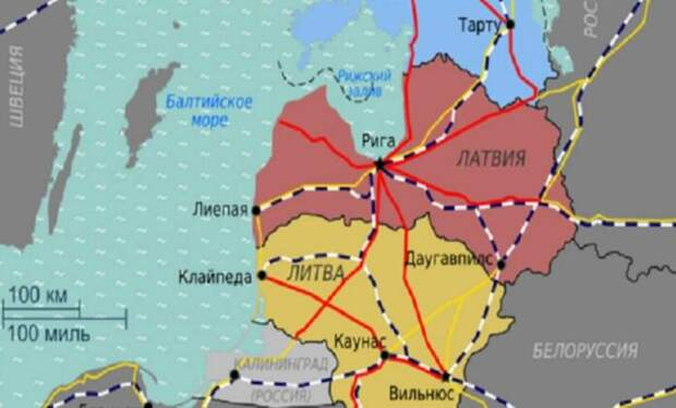 Польша, Прибалтика, Украина-лишний груз. Пора избавляться, лечить не получится