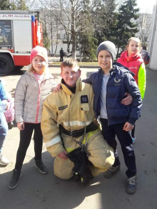 Открытый урок к 370-ти летию пожарной охраны России