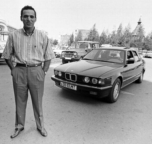 Гарри Каспаров и его «семёрка» г. Тула, начало 90-х