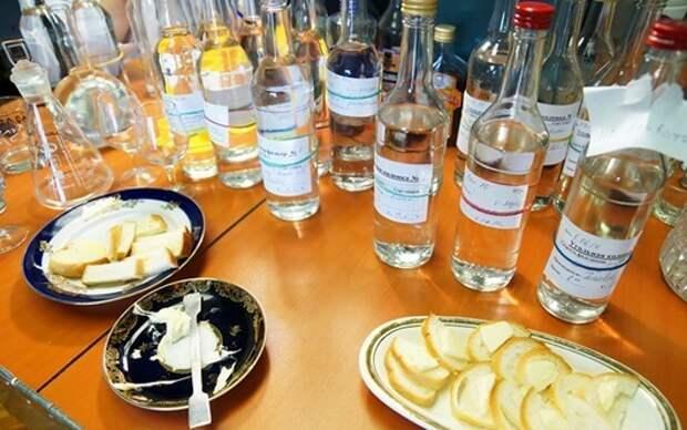 Как профессионально дегустируют водку