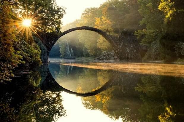 5 волшебных фото моста Ракотцбрюке, который построил дьявол