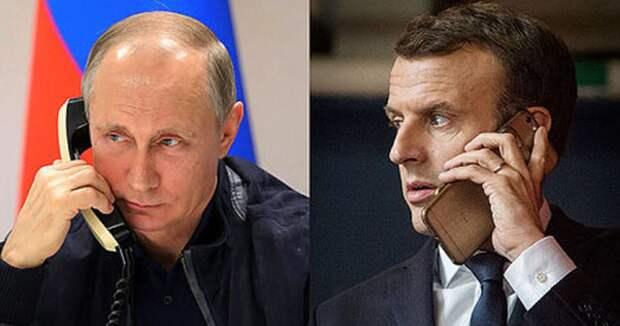 После антироссийских высказываний Макрон заявил о желании сотрудничать с Москвой