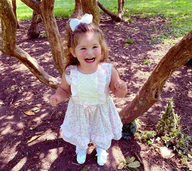Спеленок— наобложку: 2-летняя девочка станет самой юной моделью Vogue