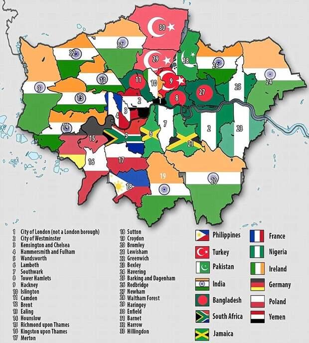 Жизнь в Лондоне иммиграция, путешевствие, факты