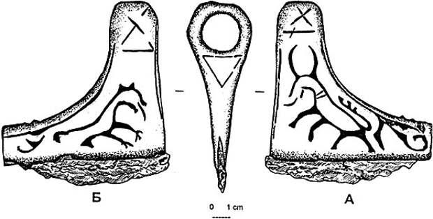 Топорик из Варген (Ранговое оружие последних язычников Европы)