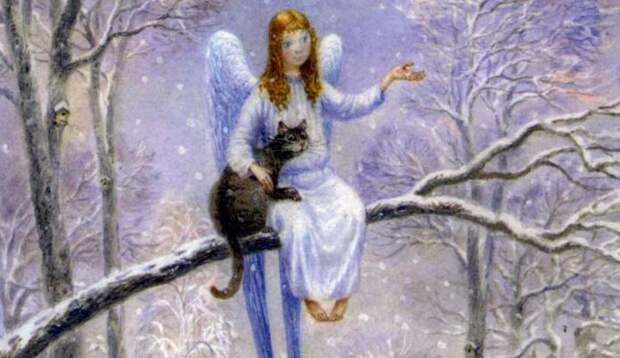 Кот и Ангел. Самая добрая сказка