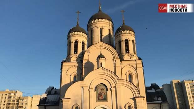 Видео: храм на Марьинском бульваре в ЮВАО