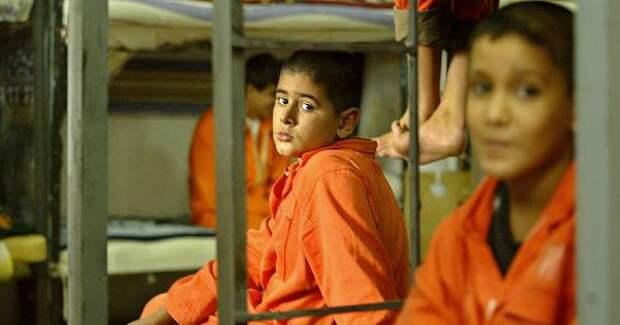 США и дети: в тюрьму всех, без разбора
