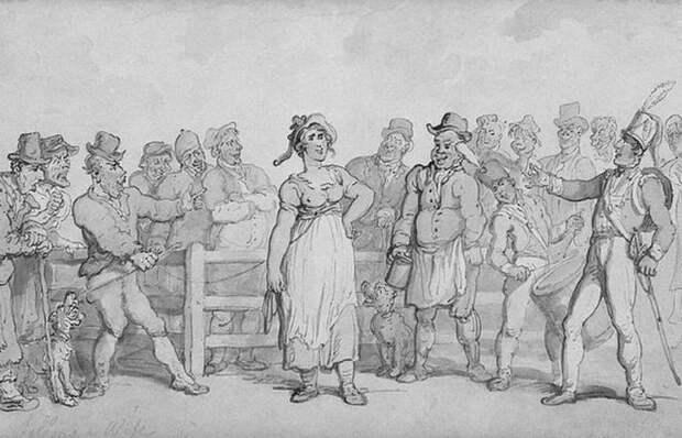1. Торговля женами в Англии история, скандал, факты