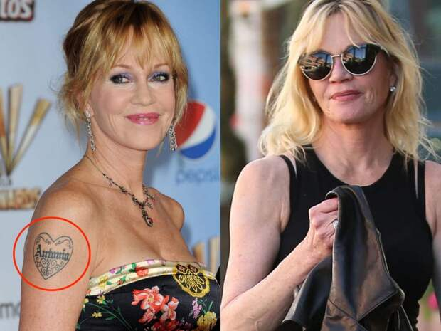 6 знаменитостей, которые сделали тату в честь любимых, но потом удалили