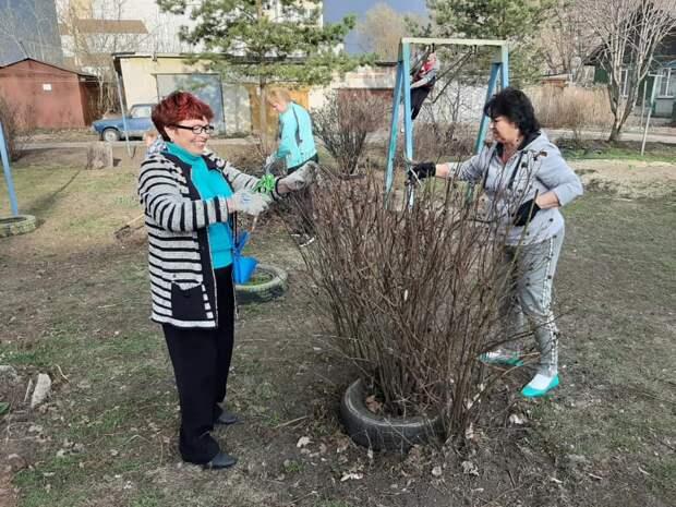 В Тамбове жители многоквартирных домов провели более 60 субботников