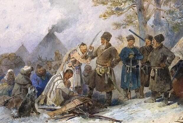 Русские колонизаторы не собирались угнетать местные народы Сибири, они предпочитали с ними торговать. Кто хотел - принимался в подданство, кто не хотел - с тех просто брали ясак