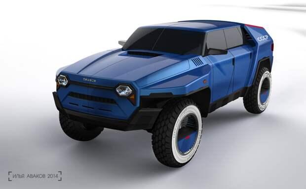 УАЗик будущего. автомобили, ваз, газ, концепты, российские автомобили, уаз