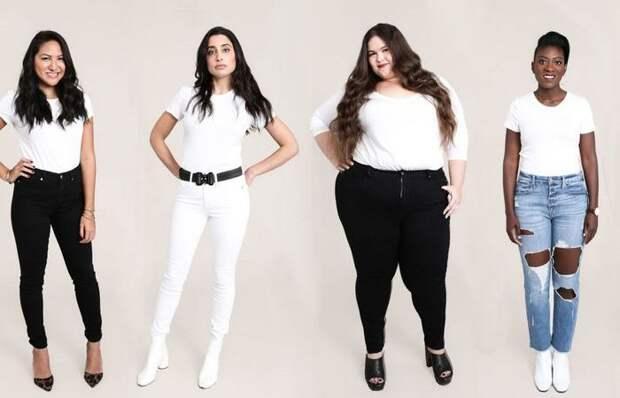 Как выбрать идеальные джинсы для каждого типа фигуры: На каждую Венеру по ее размеру