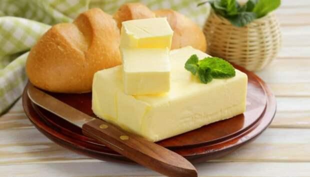 Масло масляное: сливочное и растительное