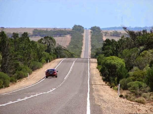 Самая длинная прямая дорога мира