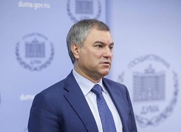 Володин признал, что кто-то проголосовал за него в ГД. «Медуза» призывает оспорить итоги