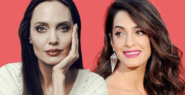 Между Анджелиной Джоли и Амаль Клуни разгорается вражда