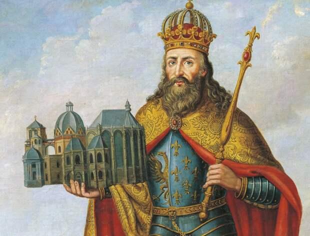 Карл Великий, сын Пипина Короткого.