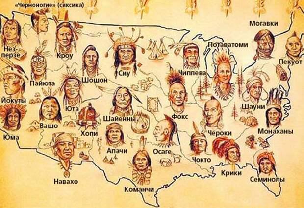 Как американцы и канадцы убивали индейцев