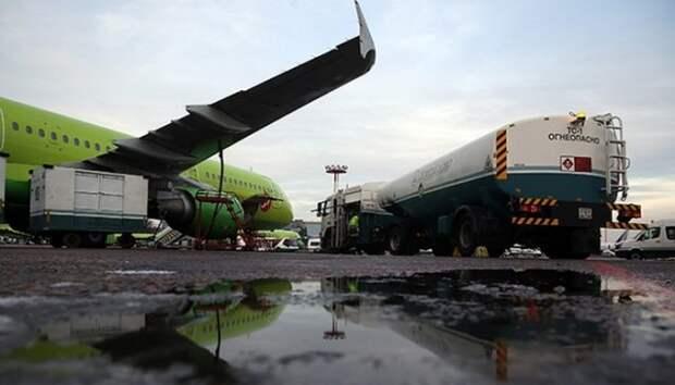 Авиакеросин в аэропортах РФ подорожал почти на 20%