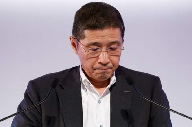 Глава японской корпорации Nissan ушел в отставку