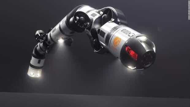 Робот-змея может ремонтировать трубопроводы на дне океана