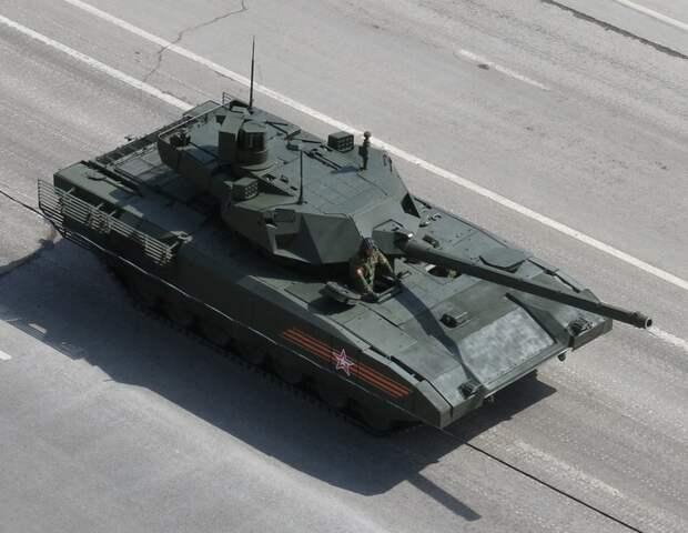 Начались войсковые испытания танка Т-14 «Армата»