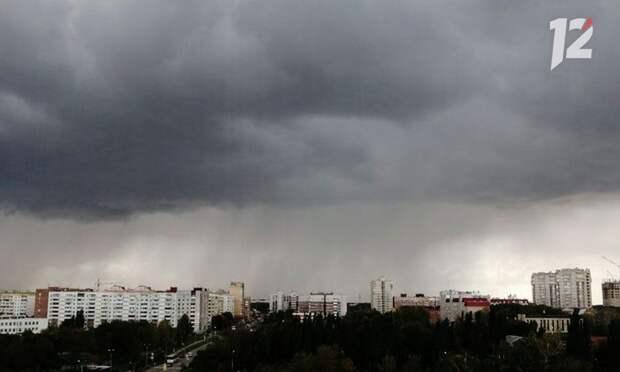 В Омской области начало рабочей недели будет прохладным и дождливым