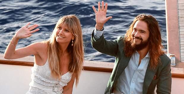 Хайди Клум и Том Каулитц сыграли свадьбу на Капри