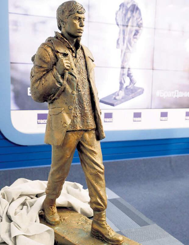 Пока непонятно, где именно установят памятник «брату Даниле» в Москве: на Покровском бульваре, около метро «Баррикадная», в сквере на Кудринской площади или в парке Декабрьского восстания. Фото: © «ИТАР-ТАСС»